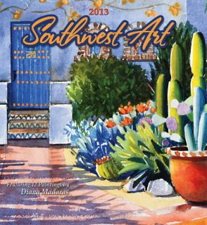 Southwest Art   2013 Calendar Calendars