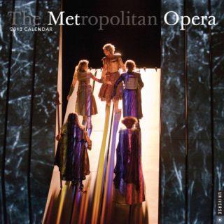 The Metropolitan Opera   2013 Calendar Calendars