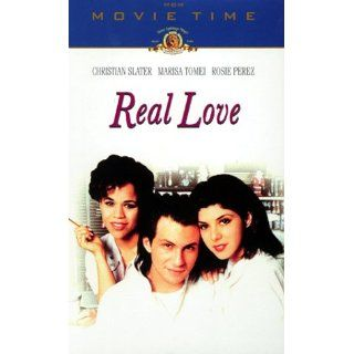 Real Love [VHS] Christian Slater, Marisa Tomei, Rosie Perez, Tony