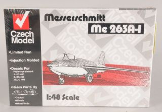 CZECH MODEL Messerschmitt Me 263A I 148 Scale Model Kit #4801 NEW