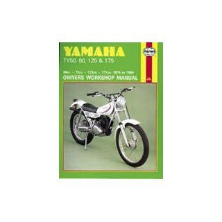 Yamaha Ty50, 80, 125 and 175 Owners Workshop Manual (Motorcycle