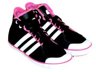 Adidas Vulcanita Lea Kinder Sneaker Schuh Schwarz Neu Gr 30 1/2, 31 1