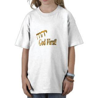 God First in Brass Tee Shirt