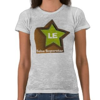 LE Salsa Superstar Projecting Star T Tee Shirts