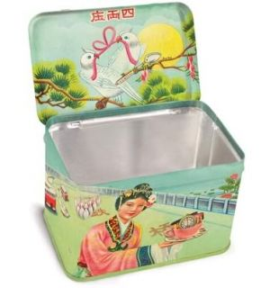 Blue Q Kawaii Kitsch Random Crap Treasure Trinket Box Retro Vintage