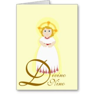Divino Nino Multi Purpose Card Customize
