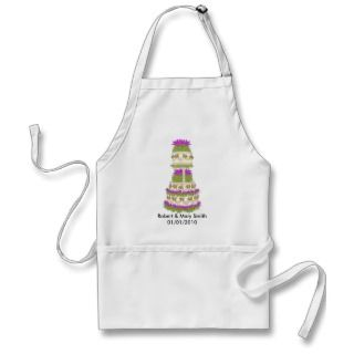 Customizable Wedding Cake Apron