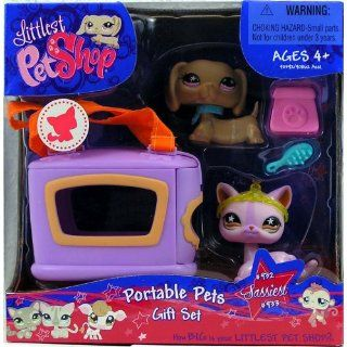 Littlest Pet Shop   Portable Pets   Gift Set Box   Sassiest   2Pack