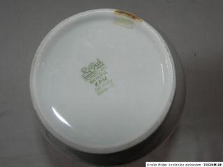 Alte Royal KPM Porzellan Vase Handarbeit Blumenvase Vasen