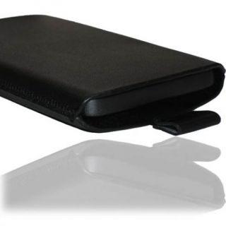 Echt Leder Tasche Samsung i 9000 Galaxy S 1 Schutz Hülle Etui Handy