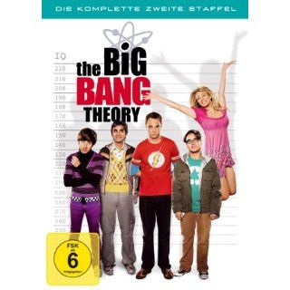 The Big Bang Theory   Die komplette zweite Staffel 4 DVDs