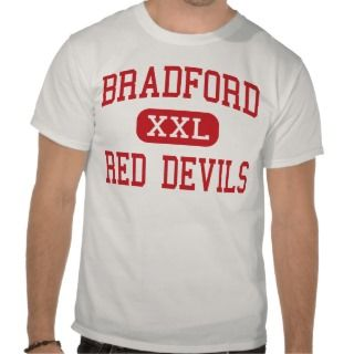 Bradford   Red Devils   High   Kenosha Wisconsin Tshirts