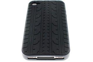 Silikon Schutzhülle f. APPLE IPHONE 4 4S Hülle Reifen Tasche Cover