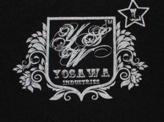 Yosawa Punk Star Design T Shirt Vintage Skater d.G.L