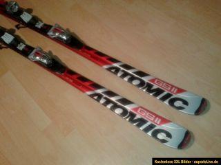 Atomic GS 11 M Race Carving Ski 171 cm rot weiss mit Bindung