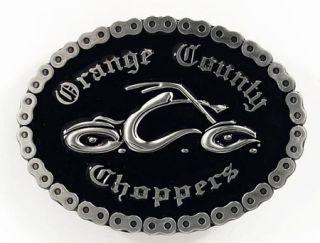 Orange County Choppers Buckle, OCC, umlaufende Kette