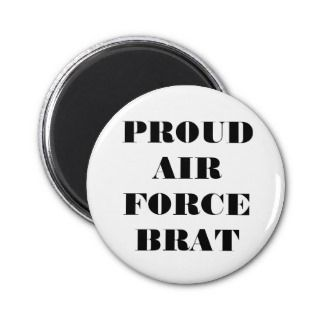 Magnet Proud Air Force Brat