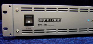 PA Verstärker RELOOP RPA 1400 Power Amplifier 2x 360W