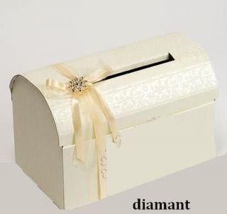 NEU! Große Briefbox Hochzeit Geldgeschenke Kartenbox Briefkiste