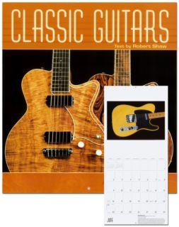 Classic Guitars   2013 Wall Calendar Calendars