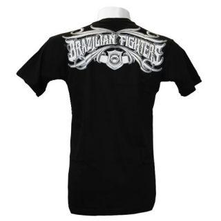 Venum T Shirt Brazilian Fighters schwarz S M L XL XXL MMA UFC Jiu