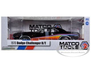 Brand new 118 scale diecas model car of 1970 Dodge Challenger R/