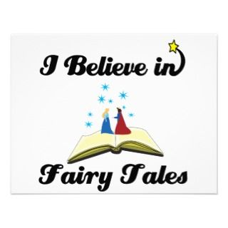 believe in fairy tales invite
