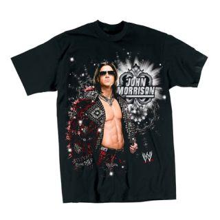 JOHN MORRISON Pose T shirt WWE Authentic