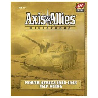 Axis & Allies Miniatures North Africa 1940 1943 Map Guide (englisch