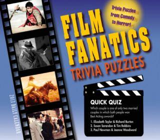 Film Fanatics Trivia Puzzles   2013 Box/Daily Calendar Calendars