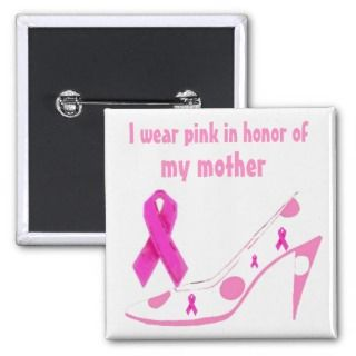 Breast Cancer Pink Ribbon Polka Dot