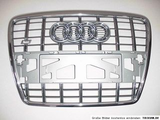 Audi A6 S6 4F Kühlergrill Grill Frontgrill 4F0853651AJ