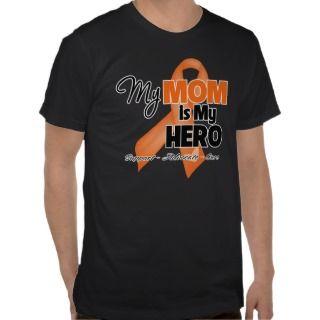 My Mom is My Hero   Leukemia Tee Shirts