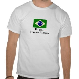 Brazil Manaus Mission T Shirt