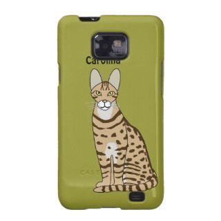 Serengeti Cat Breed Custom Name Samsung Case Samsung Galaxy Cover