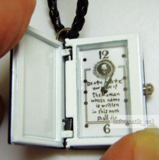 Neu Death Note Kette Uhr necklace watch Anime Manga new
