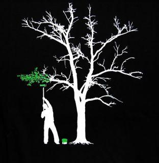tree painter paint suicide shirt emo skate shirt gr XL