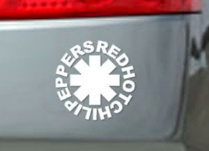Red Hot Chili Peppers Band Auto AUFKLEBER Sticker