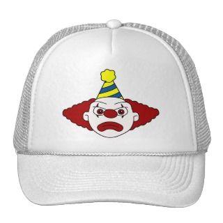 Sad Party Clown Hat