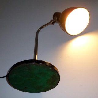 HALA Lampe Schreibtischlampe Art Deco Bauhaus lamp 30er s.a Midgard