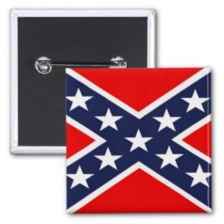 Confederate Flag Pins