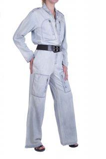 Diesel Damen Overall Jeans Sprinny Tuta Blau Gr. M
