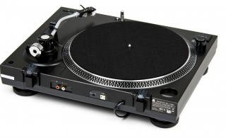 Dual DTJ 301.1 USB DJ Profi Plattenspieler mit Scratch Funktion