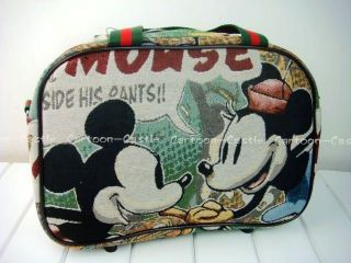 Mickey Mouse Luggage Bag Baggage Trolley Roller 25705