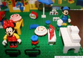 Lego 4165 Micky Maus Minnis Geburtstag fast komplett