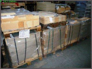 Schamottstein Schamotte Platte 300 x 150 x 30mm
