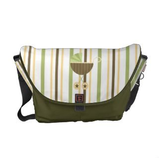 Unisex Baby Diaper Bag Baby Carriage Lime Brown Messenger Bags