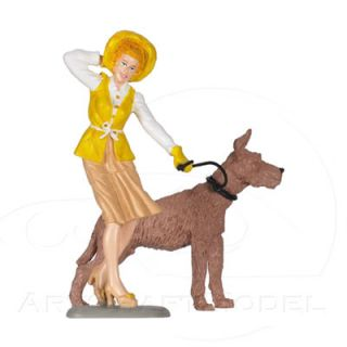 EMILY 124 Gelb   Yellow Motorhead Figur Figurine