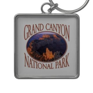 Grand Canyon National Park Sunrise North Rim Photo Keychain