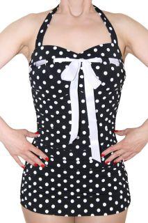 SugarShock MARILYN Polka Dots 50er retro Pin Up Rockabilly Badeanzug